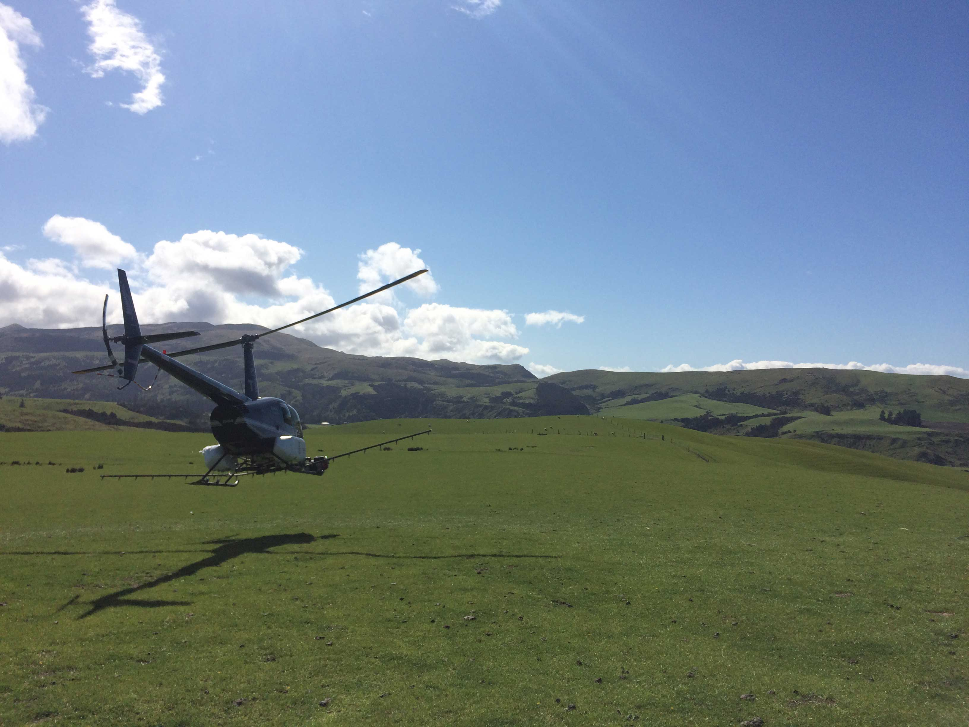 Helicopter Spraying Amp Sowing Hanmer Springs